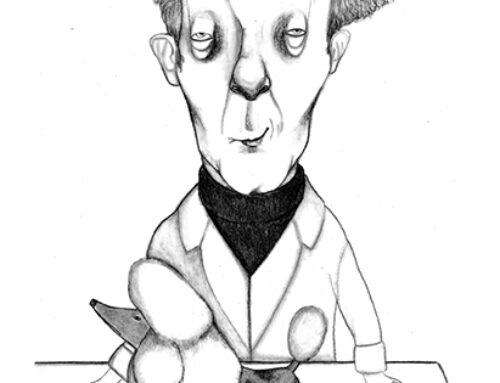 """Ilustración para la novela infantil """"La chistera del Doctor Petrov"""" (Ed. Thule)"""